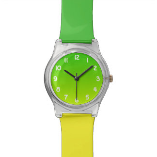 Bright Lime and Green Ombre Watch