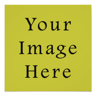 Bright Lime Green Color Trend Blank Template 13 Cm X 13 Cm Square Invitation Card