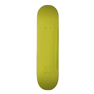 Bright Lime Green Color Trend Blank Template Skateboard Deck