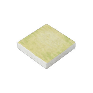 Bright Lime Green Grungy Background Stone Magnet
