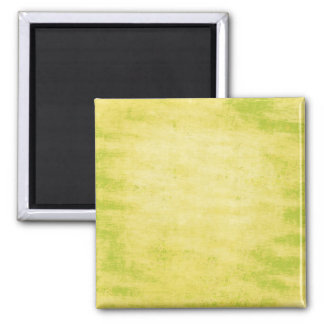 Bright Lime Green Grungy Background Fridge Magnet