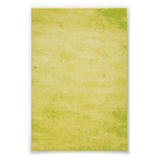 Bright Lime Green Grungy Background Poster