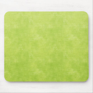 Bright lime green mouse pad