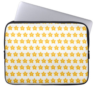 bright little stars laptop case sleeve