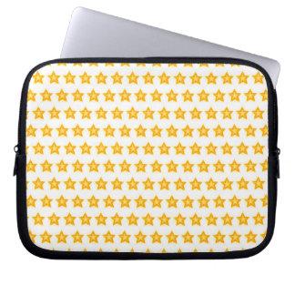 bright little stars laptop sleeve case