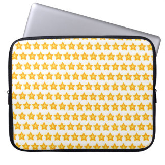 bright little stars laptop tablet sleeve case