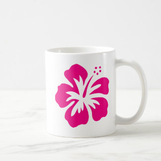 Bright Magenta Hibiscus. Coffee Mug