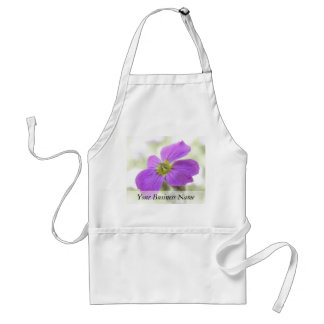 Bright Magenta Rock Cress Flower Aprons