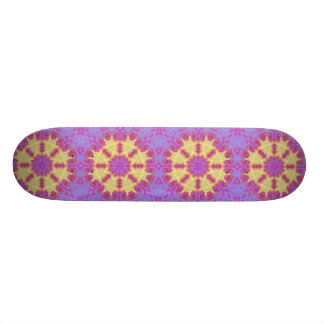Bright Mandala 20.6 Cm Skateboard Deck