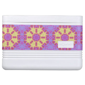 Bright Mandala Cooler
