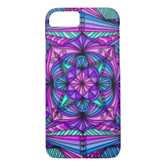 Bright Mandala iPhone 7 Barely There Case