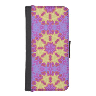 Bright Mandala iPhone SE/5/5s Wallet Case