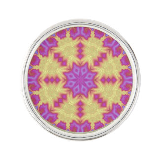 Bright Mandala Lapel Pin