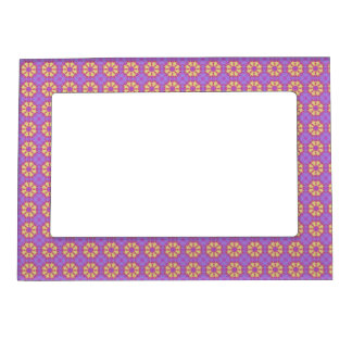 Bright Mandala Magnetic Frame