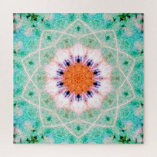 Bright Mandala | Peaceful Art Jigsaw Puzzle