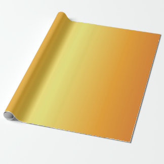 Bright Metallic Gold Bells Wrapping Paper