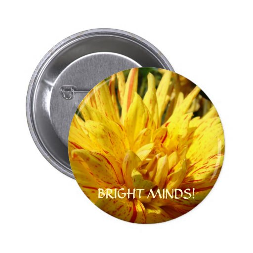 BRIGHT MINDS Button Dahlia Students Teacher Gift