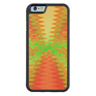 Bright mod yellow orange maple iPhone 6 bumper case