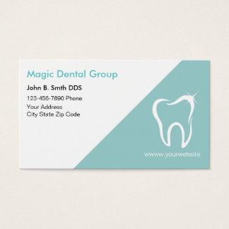 Bright Modern Dentist Business Cards