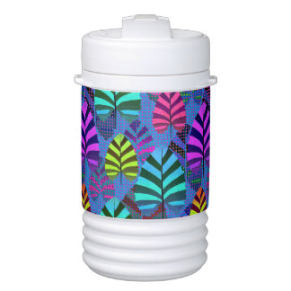 Bright Modern Leaf Pattern 437 Cooler