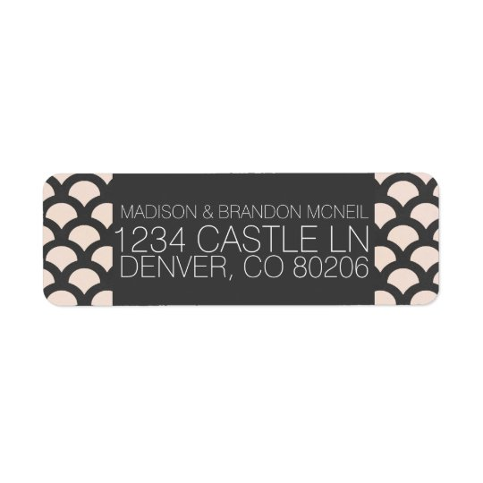 Bright N Beautiful Return Address Label