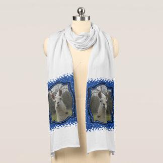 Bright N Sparkling Llama in Royal Blue Scarf