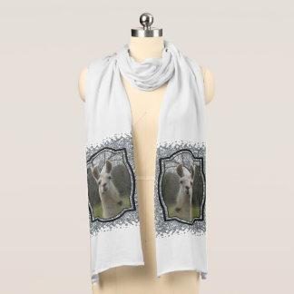 Bright N Sparkling Llama in Silver Scarf