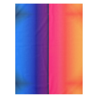 Bright Neon Abstract Sunrise Tablecloth