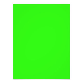 Bright Neon Green Color Trend  Blank Template Photo