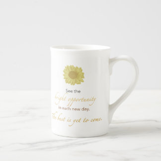 Bright New Day China Mug