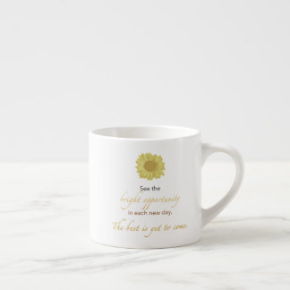 Bright New Day Espresso Mug