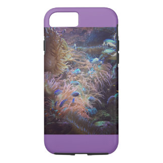 Bright ocean hideaway iPhone 7 case