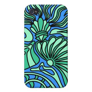 Bright Ocean Theme Design iPhone 4/4S Case
