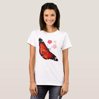 BRIGHT ORANGE BUTTERFLY T-Shirt