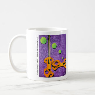 Bright Orange Cello's Coffee Mug