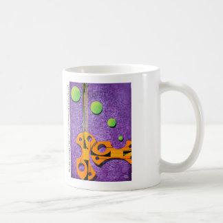 Bright Orange Cello's Coffee Mug