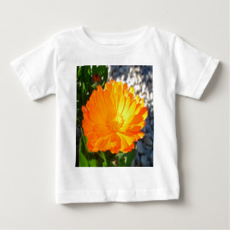Bright Orange Marigold In Bright Sunlight Baby T-Shirt