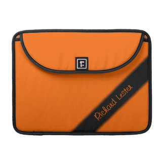 Bright Orange Personal Sleeve For MacBooks