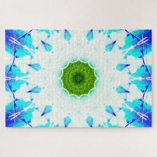 Bright Paradise | Abstract Mandala Jigsaw Puzzle