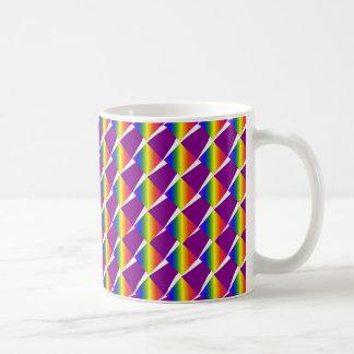 Bright Pattern Basic White Mug