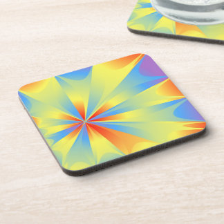 Bright Perspective Drink Coaster