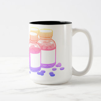 Bright Pharmacy Two-Tone Coffee Mug