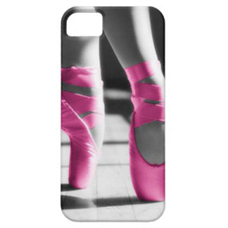 Bright Pink Ballet Shoes iPhone 5 Case