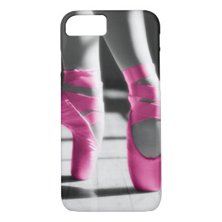 Bright Pink Ballet Shoes iPhone 7 Case
