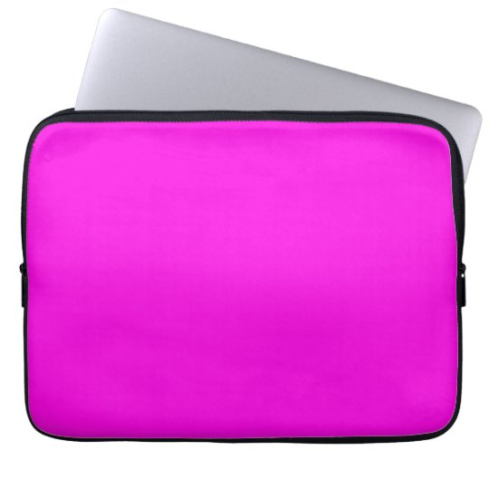 Bright Pink Colour Laptop Sleeve