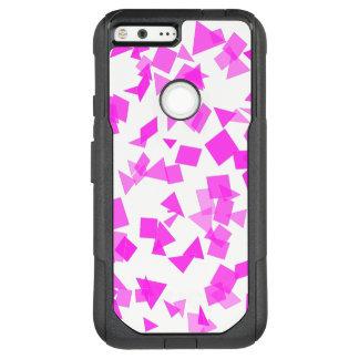 Bright Pink Confetti on White OtterBox Commuter Google Pixel XL Case