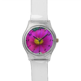 Bright Pink Cosmo Wrist Watches
