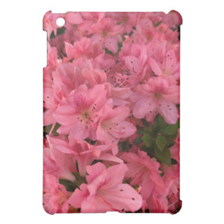 Bright pink flowering bush cover for the iPad mini