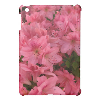 Bright pink flowering bush iPad mini cases
