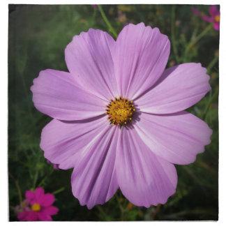 bright pink flowers cloth napkins